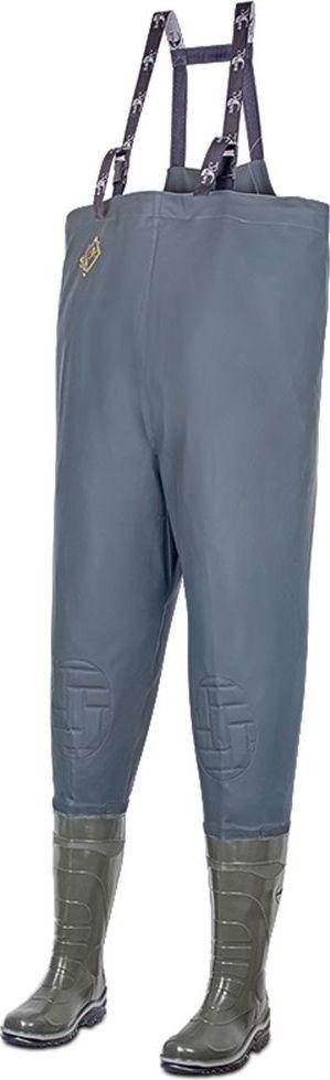 Полукомбинезон рыбацкий мужской Дюна, цвет: оливковый. 152-516. Размер 40