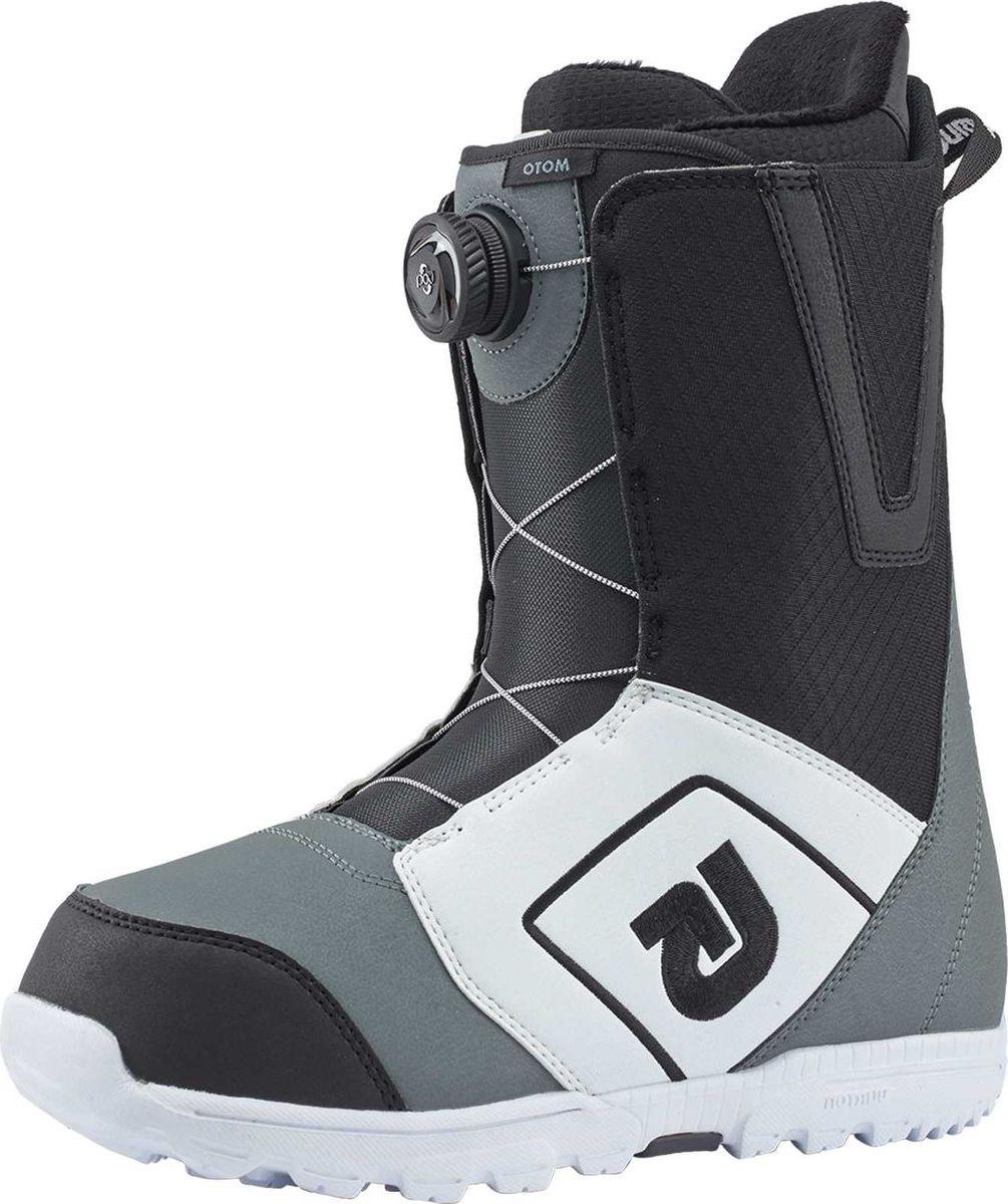 """Ботинки для сноуборда Burton """"Moto Boa"""", цвет: белый, черный, серый. Длина стельки 27,5 см"""