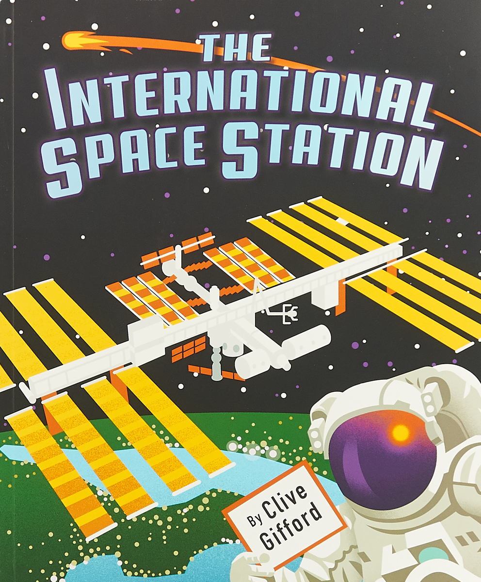 The International Space Station astronauts in space