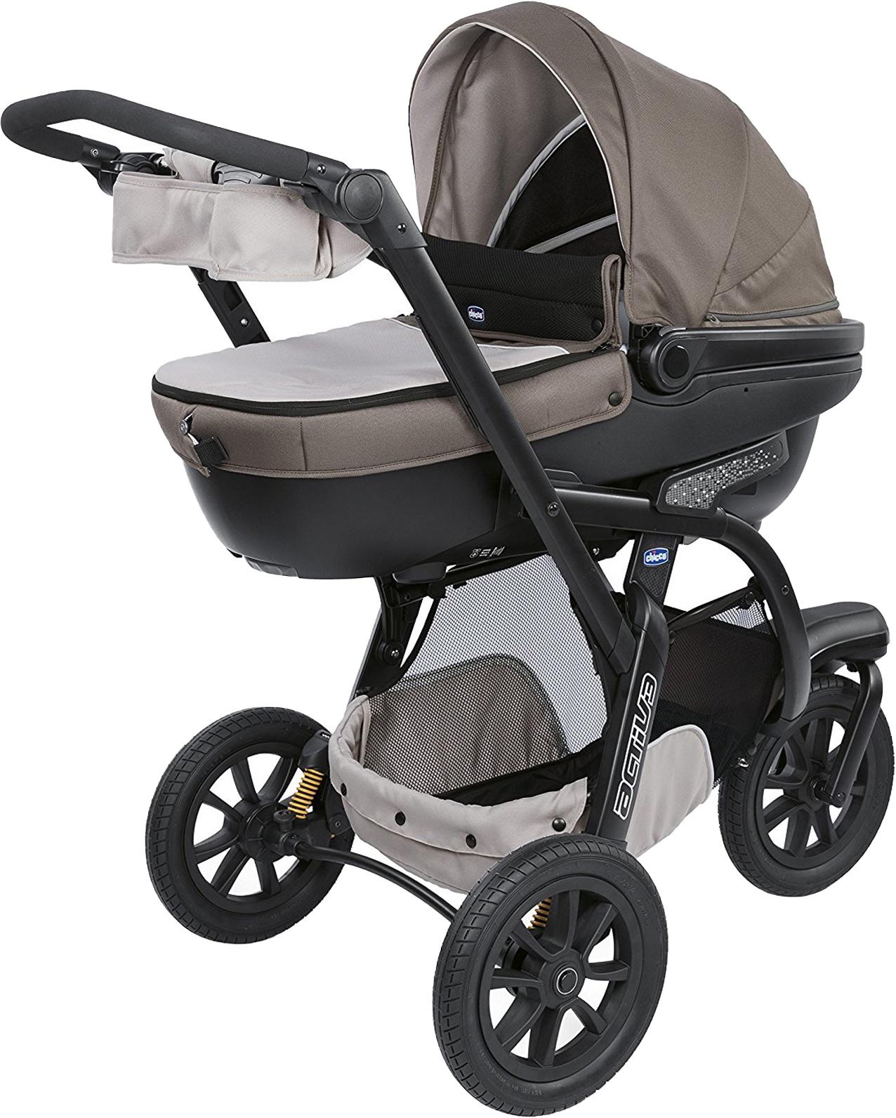 Коляска прогулочная Chicco Trio Activ3 серый прогулочная коляска chicco activ3 grey