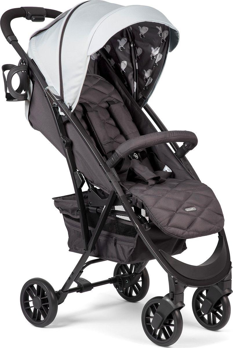 Коляска прогулочная Happy Baby Eleganza V2, светло-серый happy baby eleganza