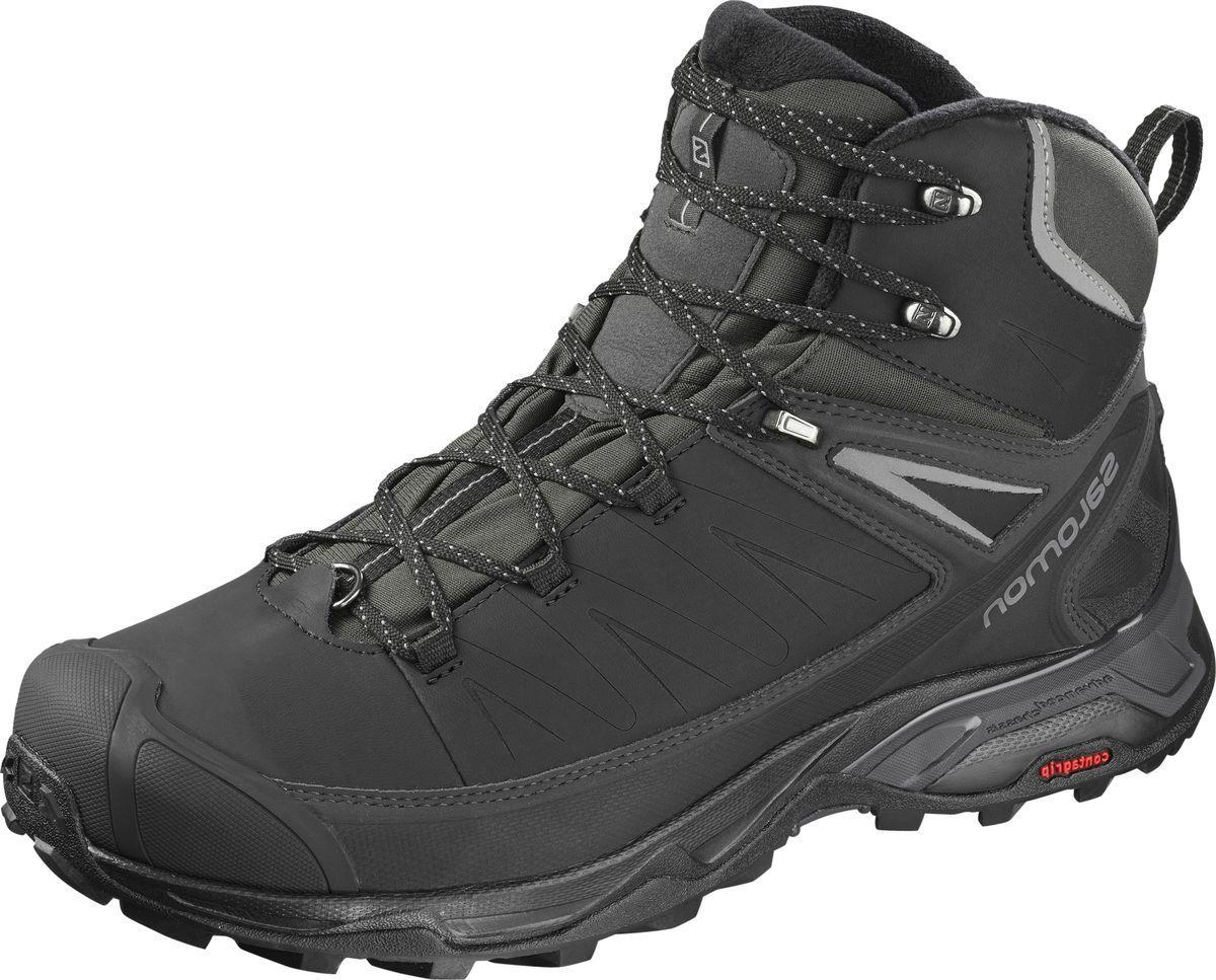 Ботинки Salomon ботинки salomon ботинки shoes shelter spikes cs wp black bk ptr