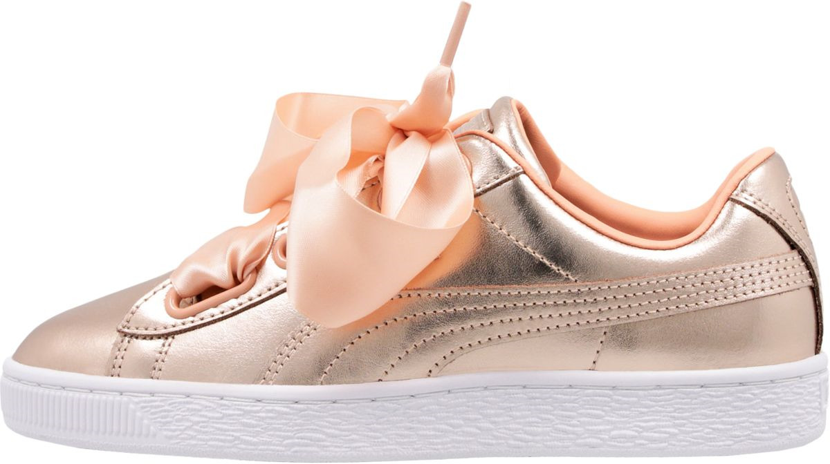 Кеды PUMA Basket Heart Luxe Wn s