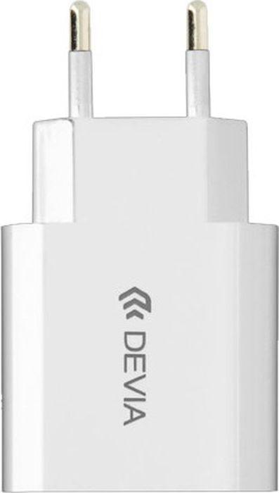 Сетевое зарядное устройство Devia Smart Charger 2A 10.5W, белый