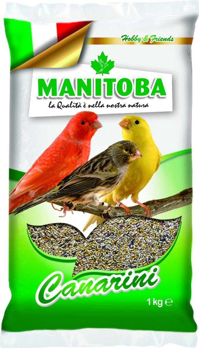 Корм сухой Manitoba, для канареек, 1 кг корм сухой manitoba для крупных попугаев 2 кг