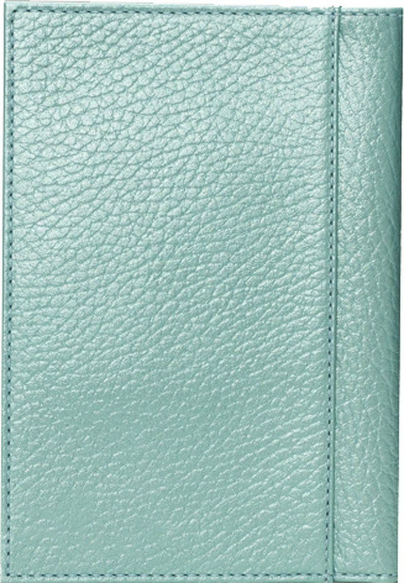 Обложка для паспорта женская Fabula Tiara, O.97.TR, голубой цена