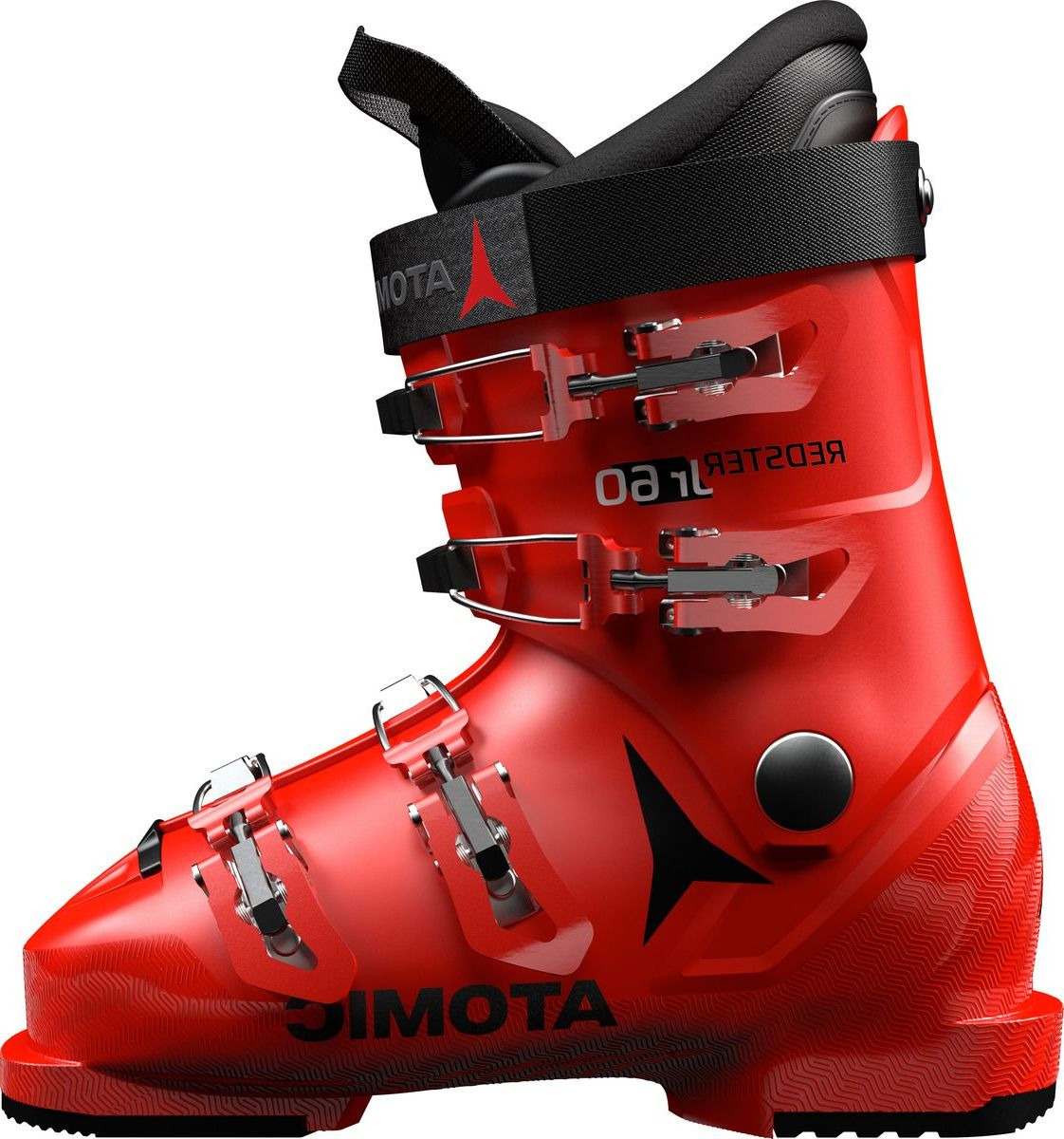 Ботинки горнолыжные Atomic Redster Jr 60, цвет: красный, черный. Размер 29,5/31