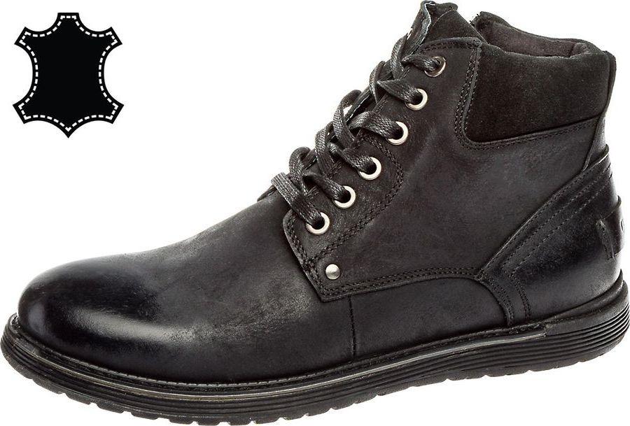 Ботинки мужские Tesoro, цвет: черный. 188307/01-01. Размер 43 Tesoro