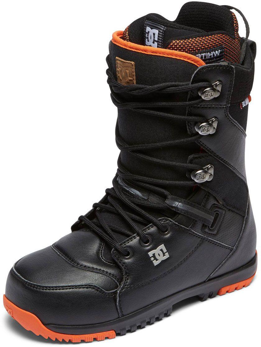 Ботинки для сноуборда DC Shoes Mutiny M LSBT DSD, цвет: серый, коричневый. Размер 12D (45,5)
