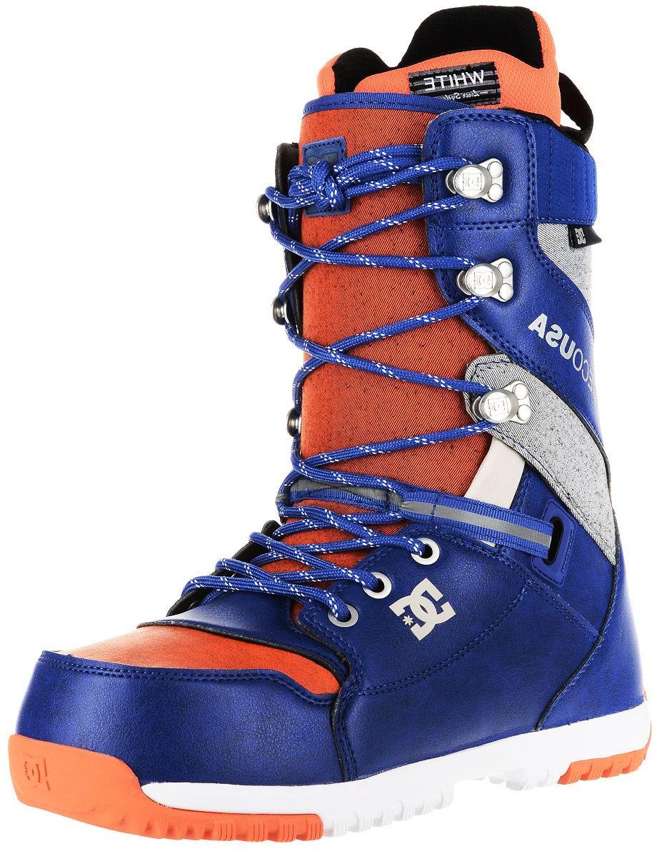 Ботинки для сноуборда DC Shoes Mutiny M LSBT XSBR, цвет: красный. Размер 9,5D (42,5)