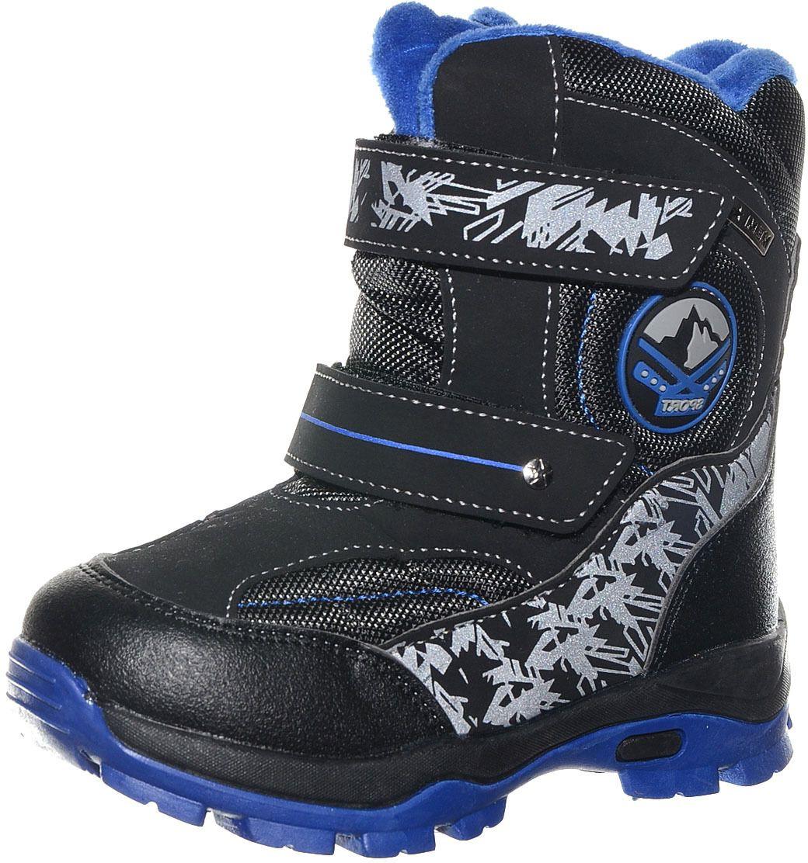 Ботинки детские Тотошка, цвет: черный. N-631A-A. Размер 30N-631A-A