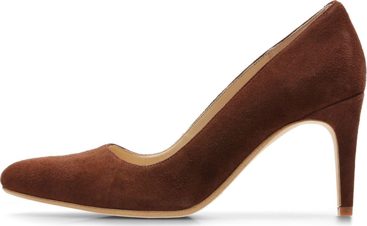 Туфли женские Clarks Laina Rae, цвет: коричневый. 26137799. Размер 6 (39,5)26137799