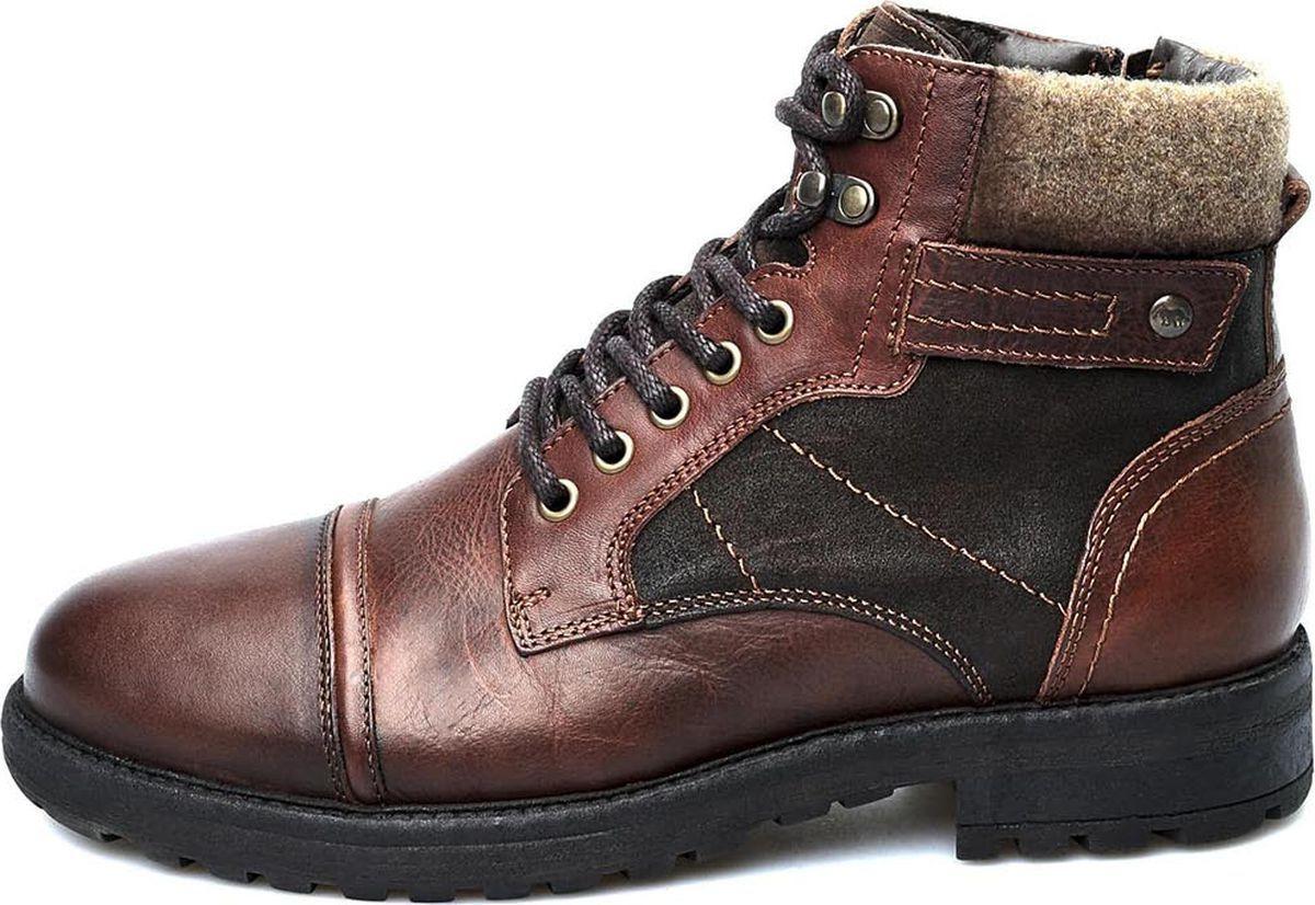 Ботинки мужские El Tempo, цвет: коричневый. PP306_6384_BROWN. Размер 44PP306_6384_BROWN