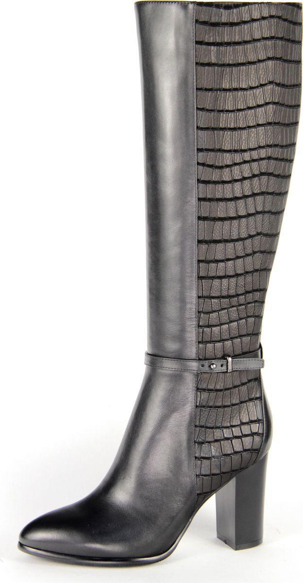 Сапоги женские Sinta Gamma, цвет: черный. 1006B15-055-NP1. Размер 411006B15-055-NP1