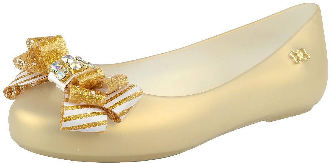 Балетки для девочки Worldcolors, цвет: золотой. 027.023G. Размер 27/28027.023G