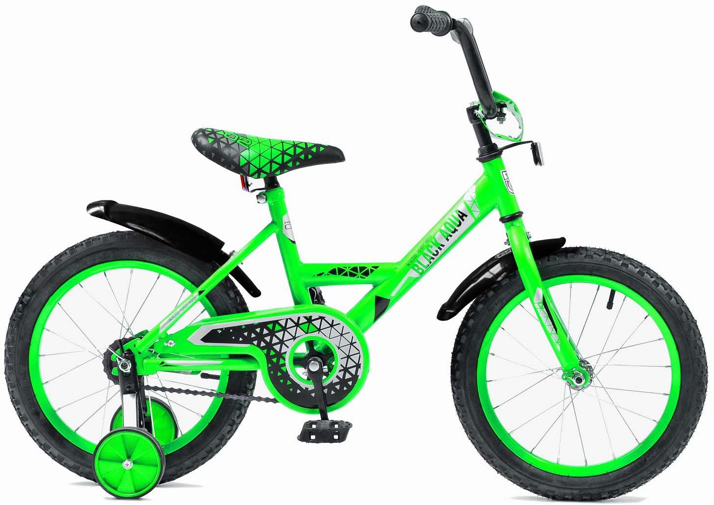 Велосипед детский Black Aqua Base-T, CH-1802B, колесо 18, салатовый
