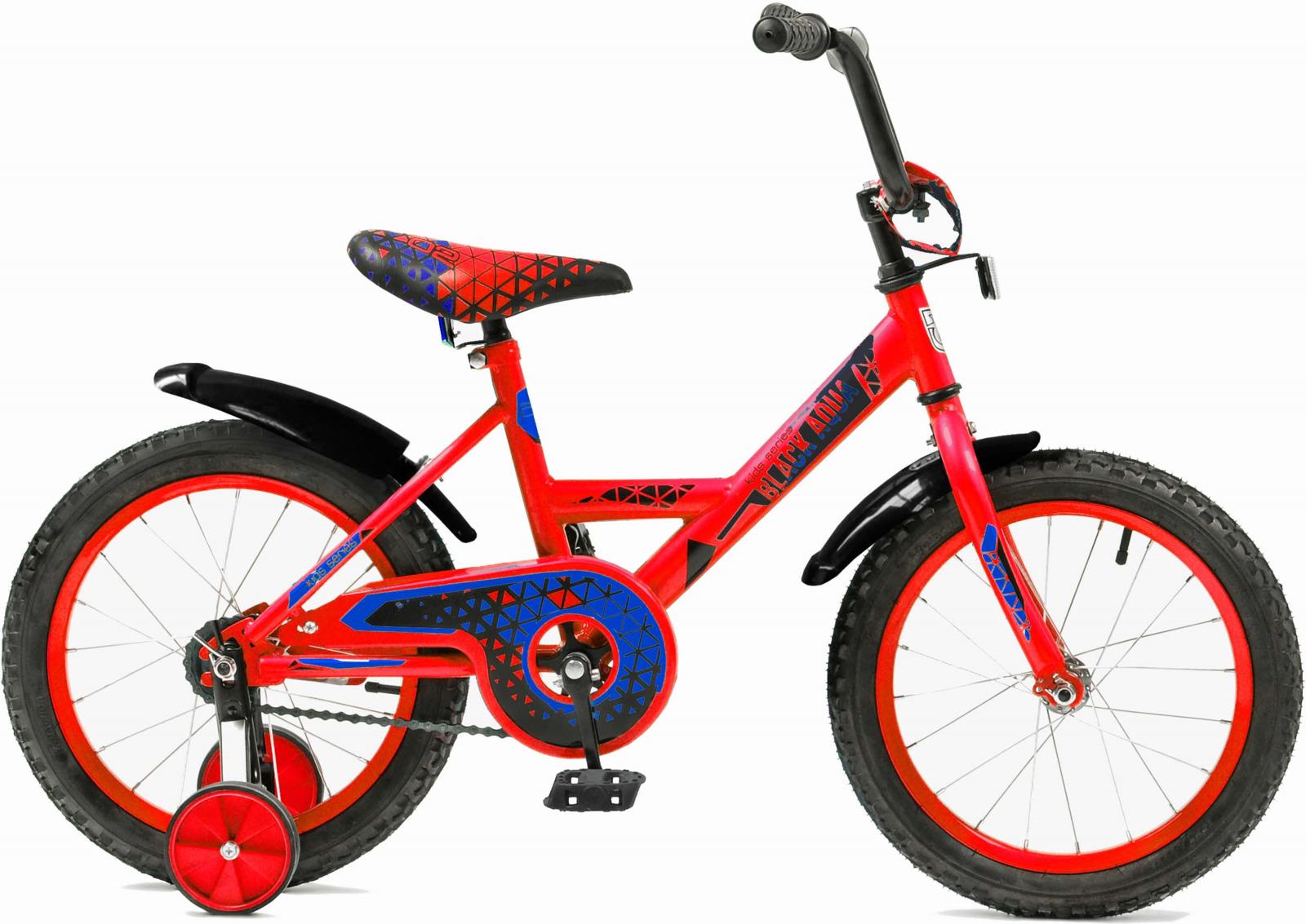 Велосипед детский Black Aqua Base-T, CH-1202B, колесо 12, красный