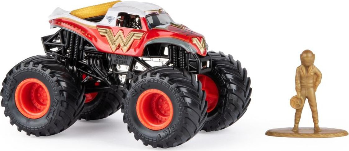 Машинка Monster Jam Figures Wonder Woman, 6044941_20103404 машинка monster jam figures el toro loco 6044941 20103403