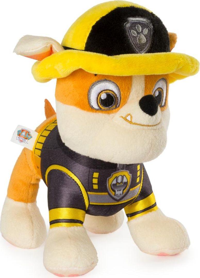 Мягкая игрушка Paw Patrol Plush Крепыш Суперспасатели пожарные, 6044393_20101974 цена 2017
