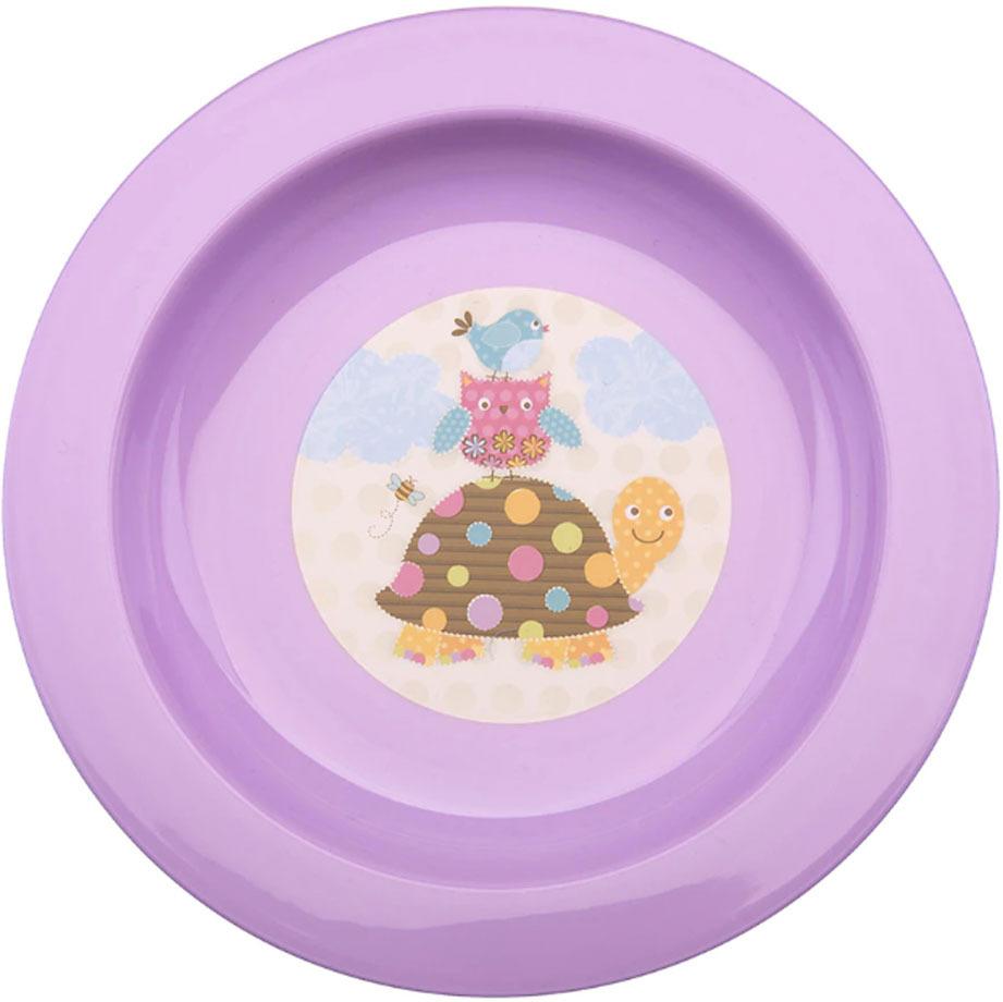 Тарелка детская Мир Детства, для вторых блюд, 17341