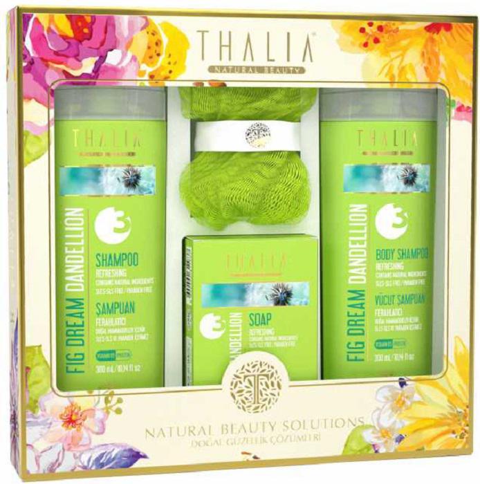 Банный набор 3 в 1 с экстрактом одуванчика Thalia Thalia