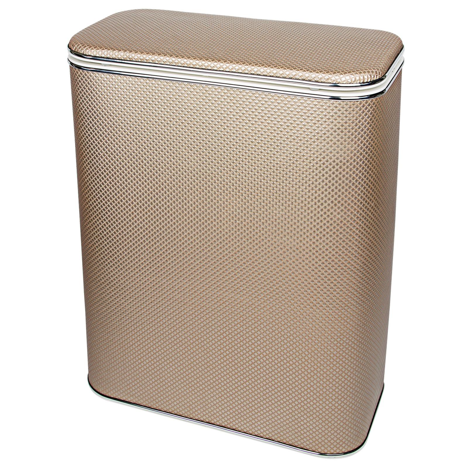 Корзина для белья Geralis RBH-B, коричневый