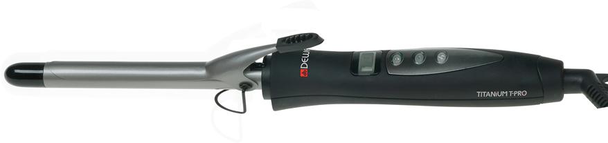 Щипцы для завивки Dewal TitaniumT Pro, черный щипцы для завивки dewal titaniumt pro 33мм черный