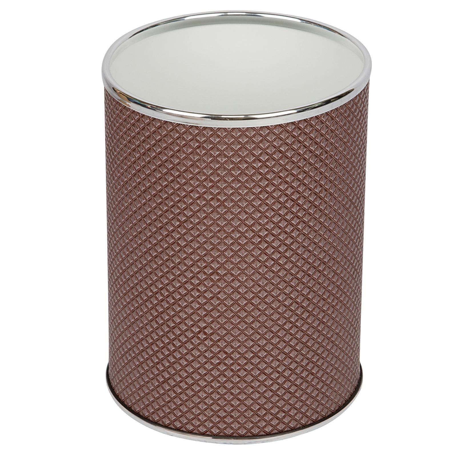 Мусорное ведро Geralis M-RBH-B, коричневый цена