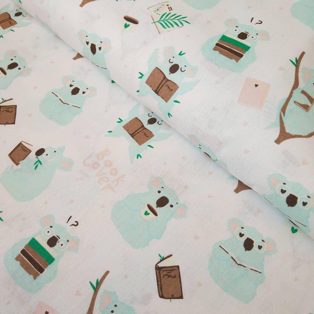 Ткань Vebertex Коалы-книголюбы ткань vebertex коалы книголюбы