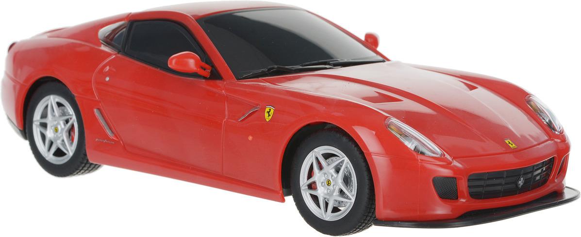 MJX Радиоуправляемая модель Ferrari 599 GTB Fiorano масштаб 1:20 автомобиль bburago ferrari 599 gtb fiorano hgte 1 43