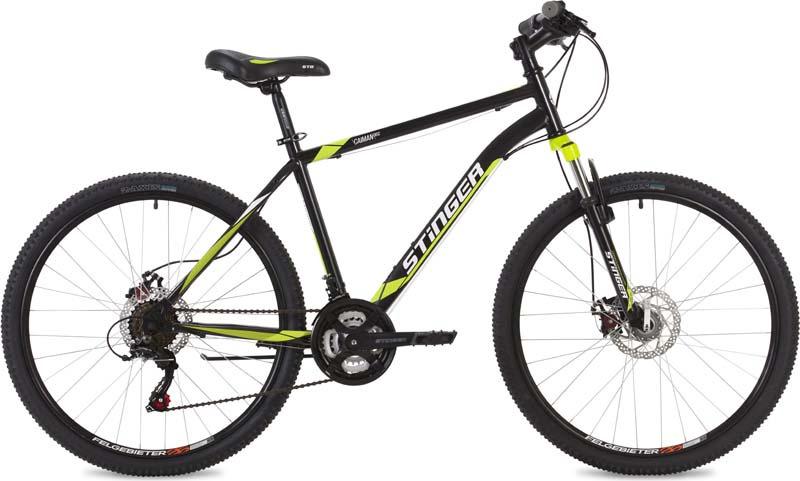Велосипед Stinger Caiman D, черный, 26, рама 20