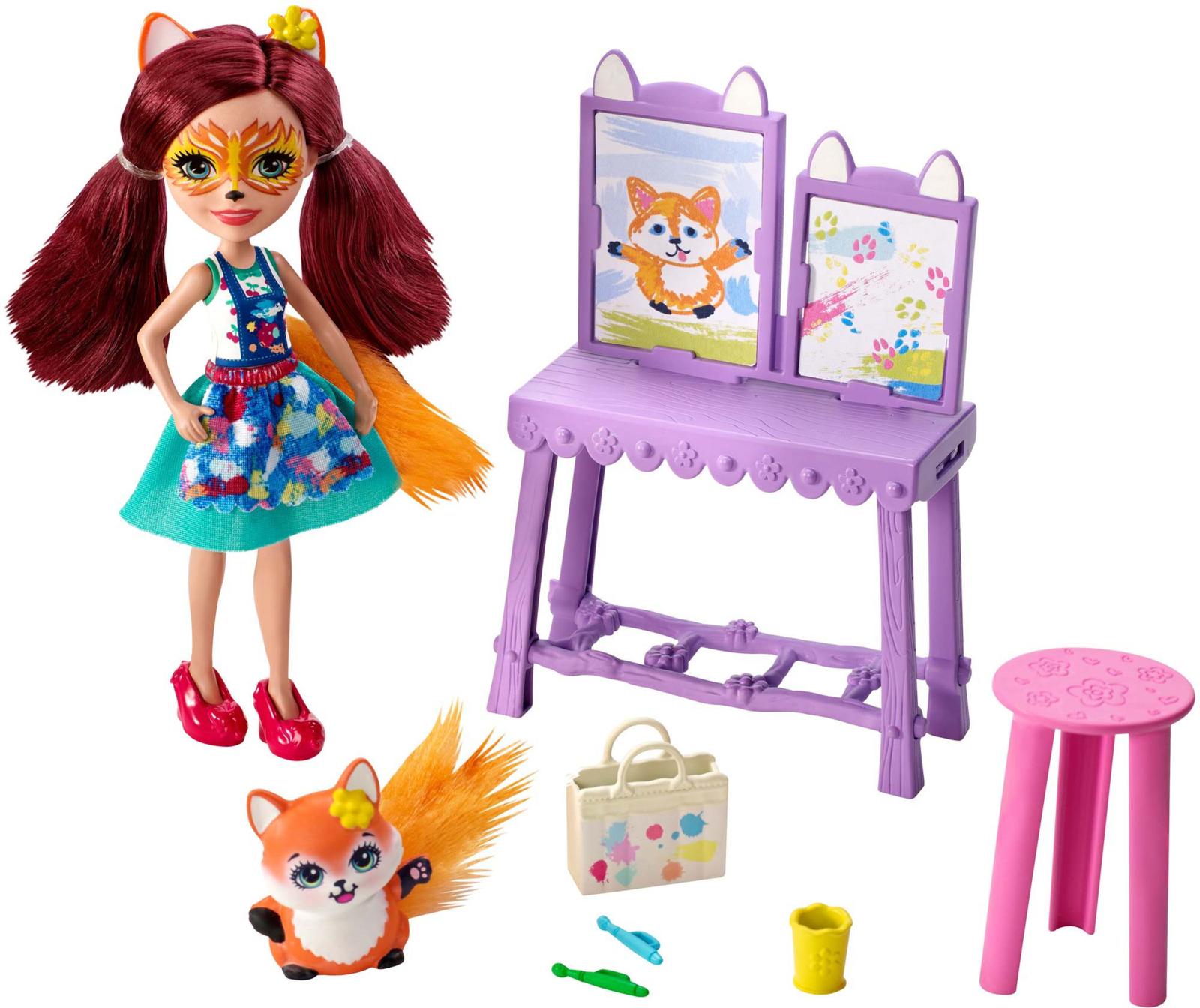 Фото - Enchantimals Игровой набор Кукла со зверушкой FCC62_GBX03 enchantimals игровой набор кукла со зверюшкой fnh22 fjj21