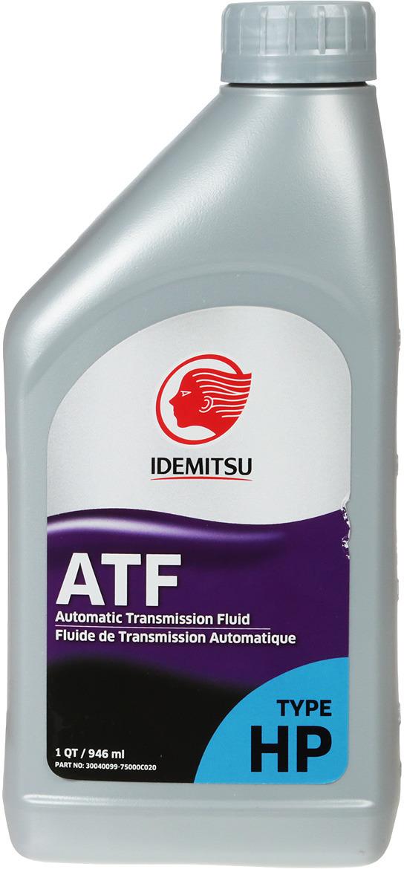 Масло трансмиссионное IDEMITSU, синтетическое, ATF Type HP, 1 л