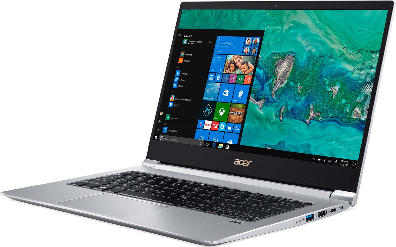 Ноутбук Acer Swift 3 SF314-55G, NX.H3UER.004, 14