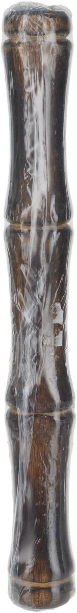 Подставка для ароматических палочек Sitara Стебель бамбука, цвет: коричневый русские благовония даммар плоская пачка 7 палочек подставка