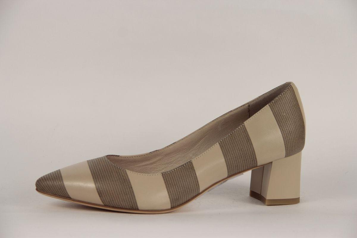 Туфли женские Sinta Gamma, цвет: бежевый. 114-07A-Y121KF. Размер 41114-07A-Y121KF