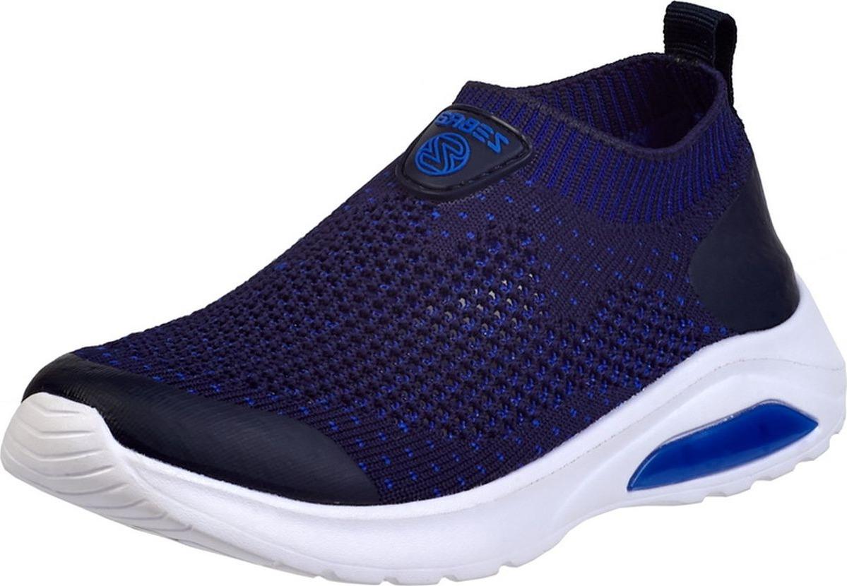 Кроссовки для мальчика Зебра, цвет: синий. 12996-5. Размер 3112996-5