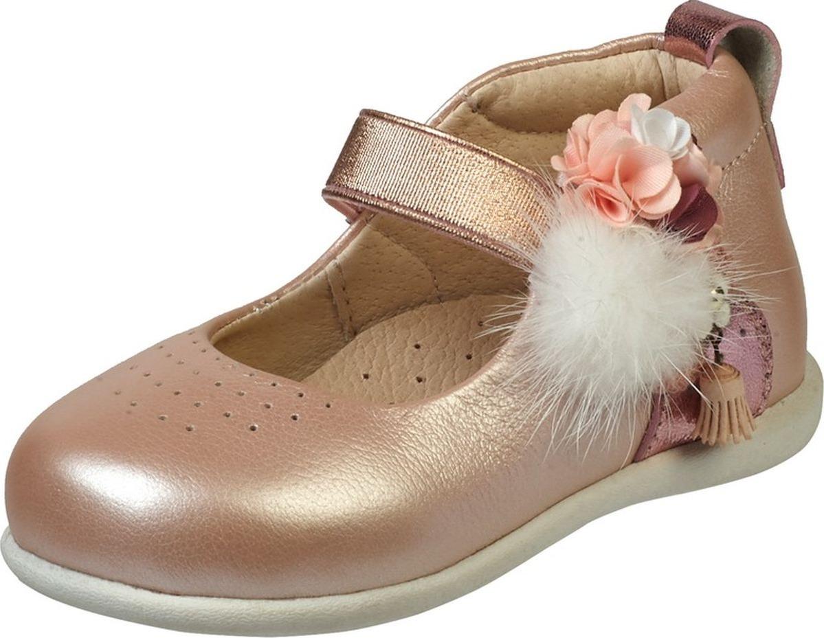 Туфли для девочки Зебра, цвет: розовый. 13144-9. Размер 2413144-9