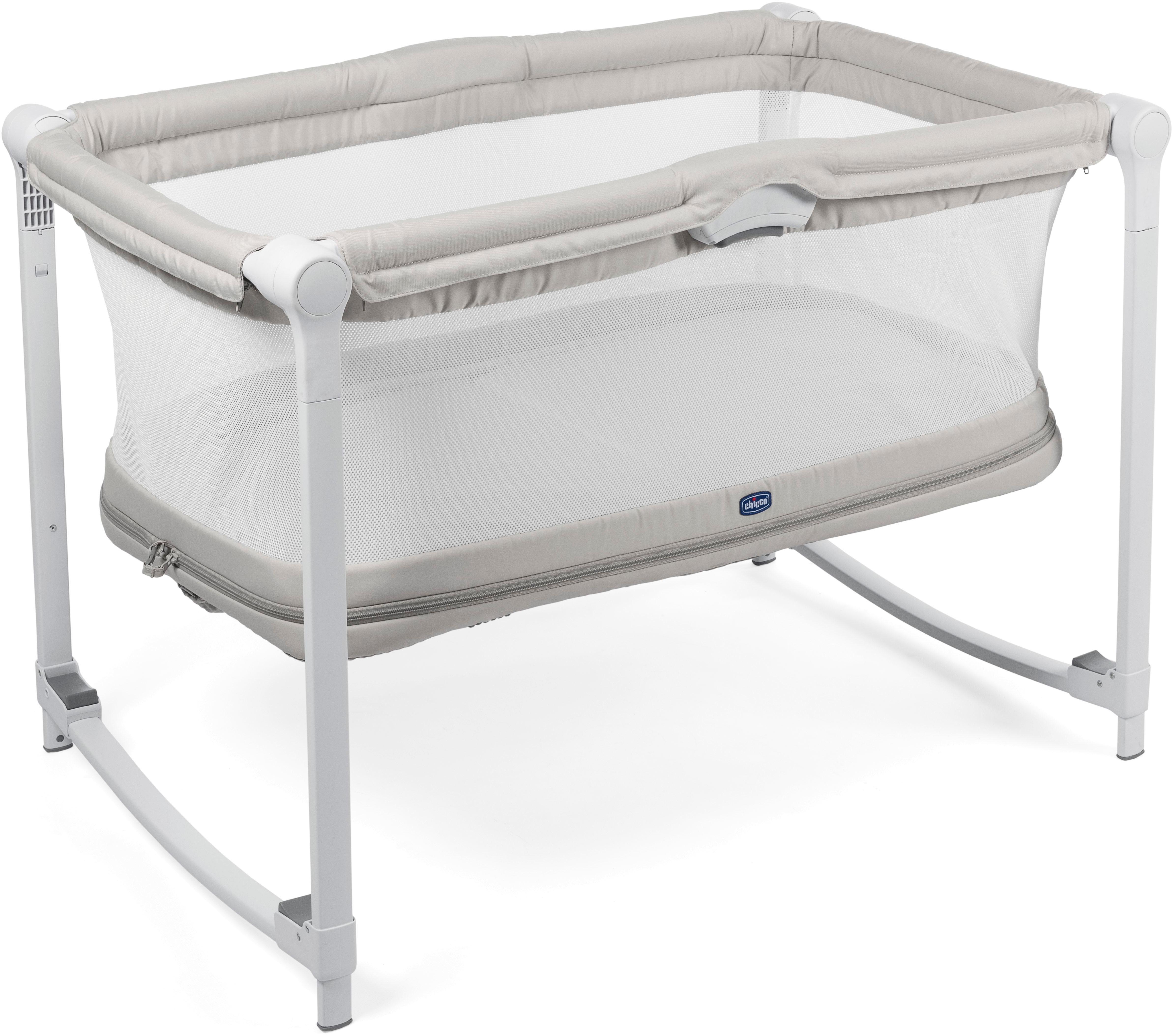 Манеж-кроватка Chicco Zip&Go серый