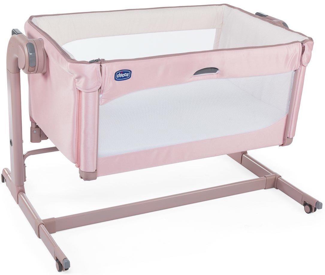 Манеж-кроватка Chicco Next2Me Magic розовый