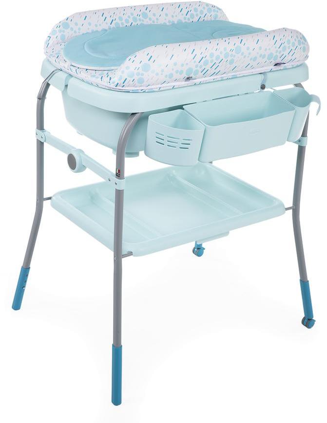 Детская ванна Chicco Cuddle & Bubble Comfort бирюзовый
