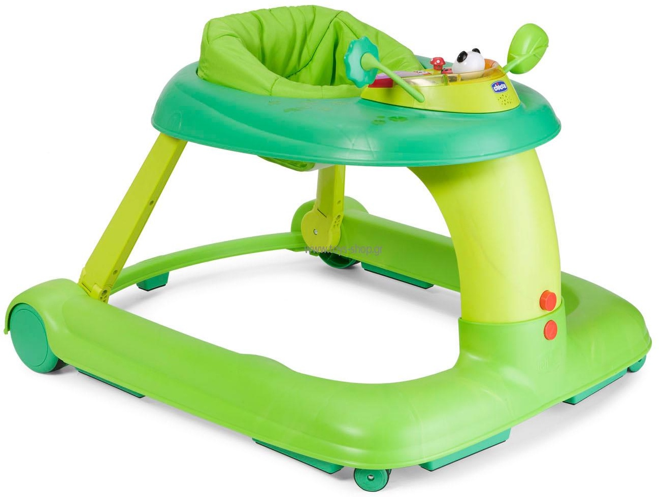 Ходунки-каталка Chicco 123 Baby Walker зеленый chicco игровой центр каталка baby walker 2 в 1 chicco