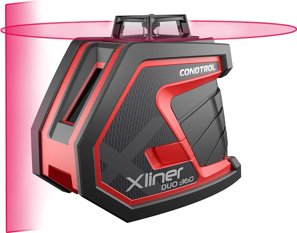 Лазерный нивелир Condtrol XLiner, дальность измерений 40/80 м, 1-2-120