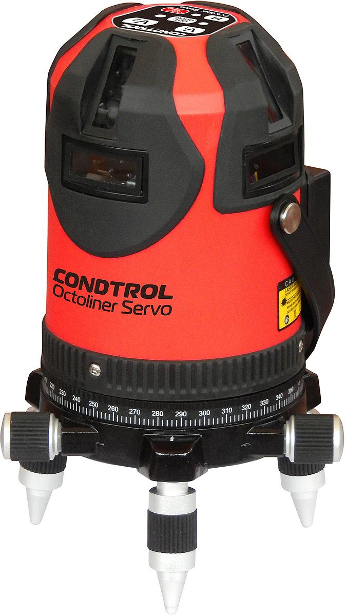Лазерный нивелир Condtrol Octoliner, дальность измерений 30/100 м, 1-2-124