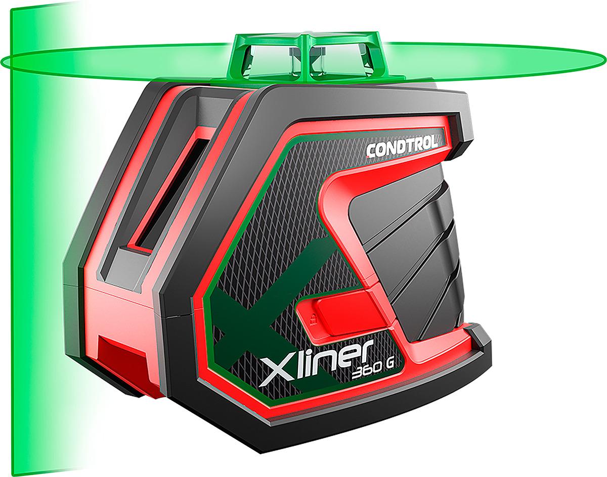 Лазерный нивелир Condtrol XLiner, дальность измерений 50/100 м, 1-2-134