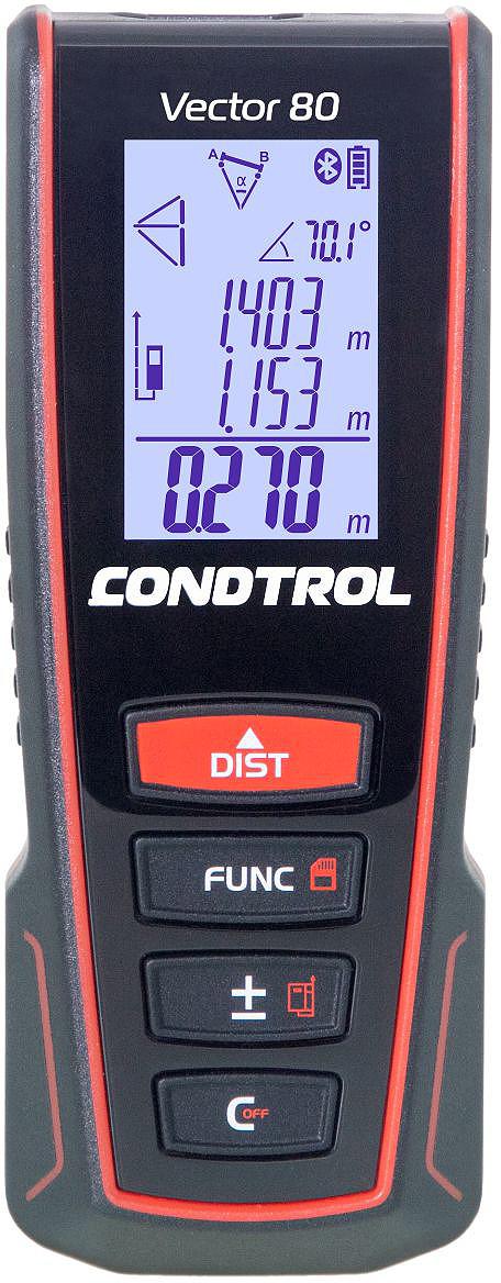 Дальномер Condtrol Vector, дальность измерений 80 м, 1-4-099