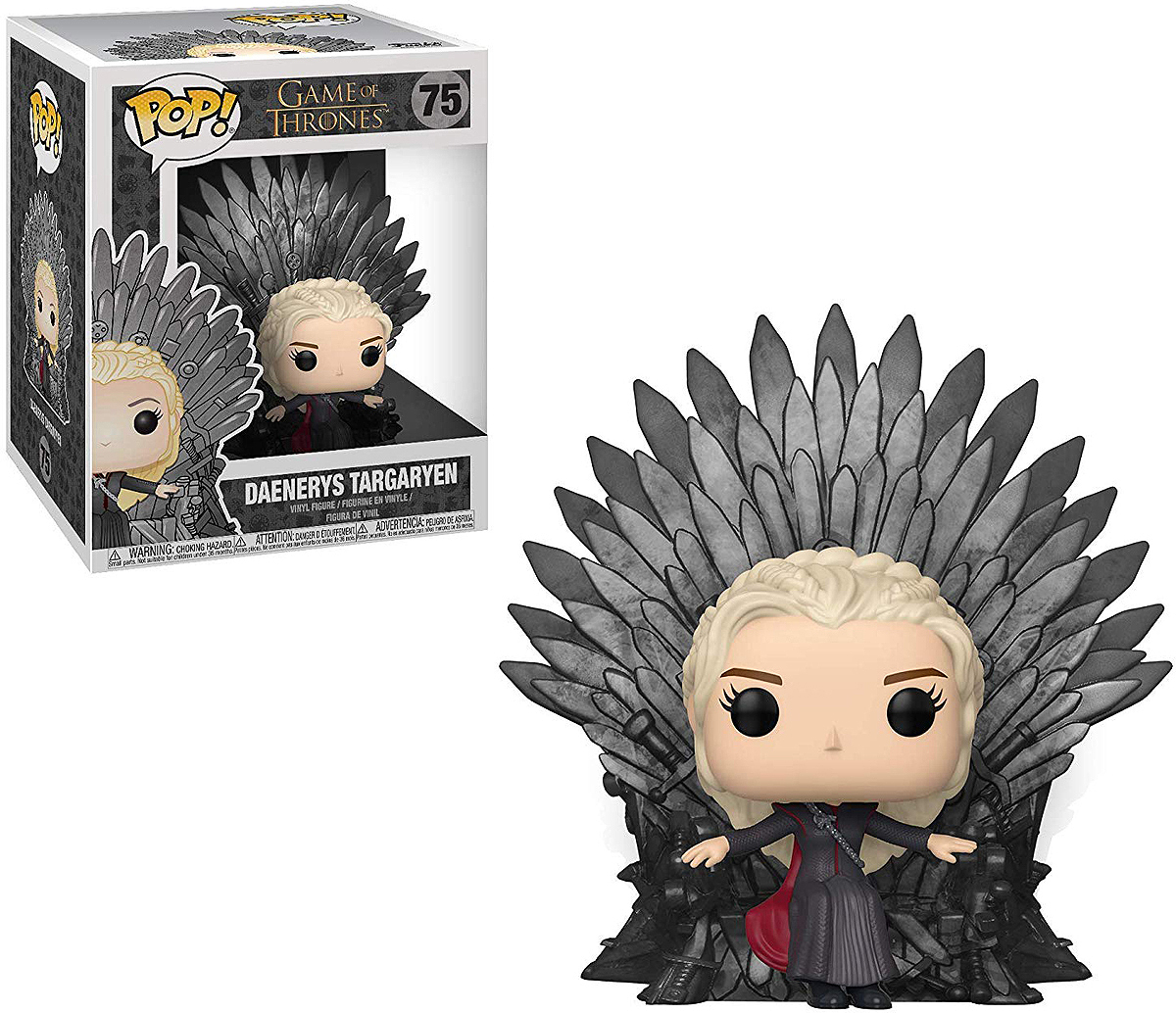 Фигурка Funko POP! Deluxe: Game of Thrones S10: Daenerys on Thron 37792