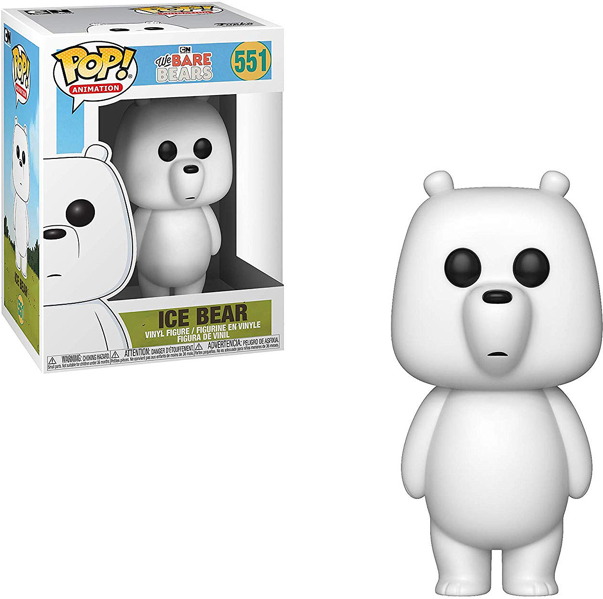 Фигурка Funko POP! Vinyl: We Bare Bears: Ice Bear 37770 ice bear