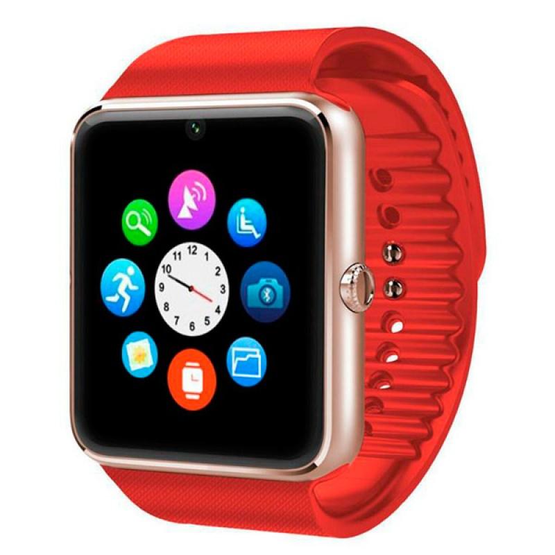 Умные часы ZDK GT08 Red, красный умные часы zdk gt08 silver