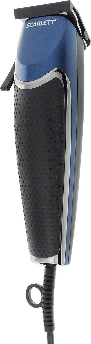 Машинка для стрижки волос Scarlett SC-HC63C30, черный scarlett sc hc63c01 black chrome машинка для стрижки волос